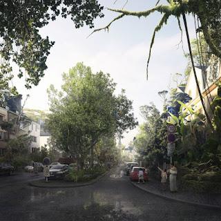 Foresta a Lussemburgo con Dagli+