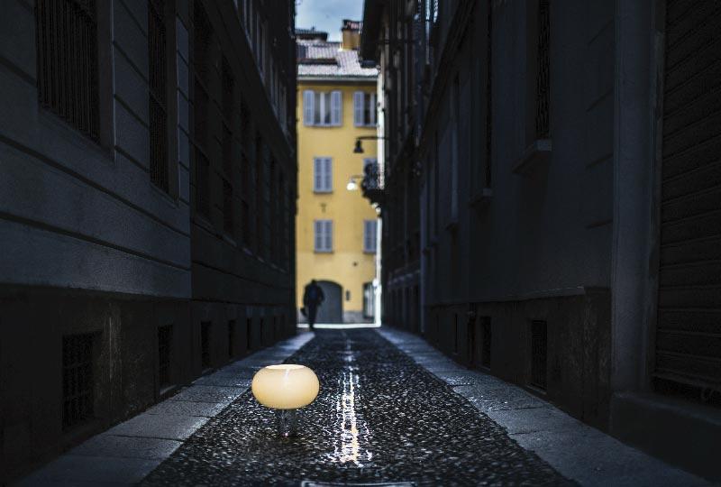 lampade foscarini tra le strade di milano blog di