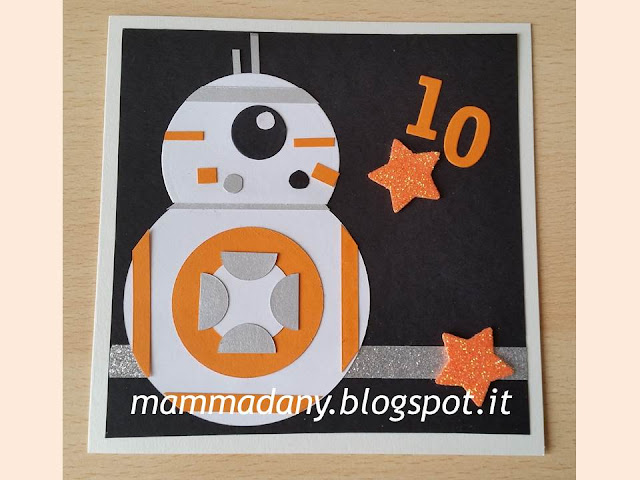 birthday card bb-8 droid