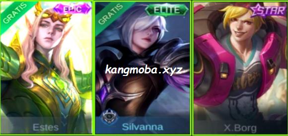 3 Script Skin (Xborg Starlight, Estes Epic, Silvanna Elite)