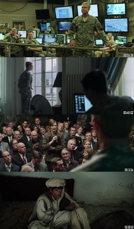 War Machine 2017 WEBRip 720p 480p Dual Audio Hindi English Full Movie Download