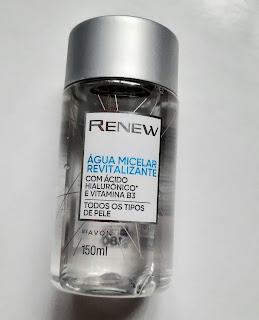 água micelar revitalizante renew avon