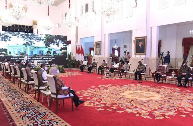 Presiden Jokowi Instruksikan Segera Jalankan Program Vaksinasi Covid-19