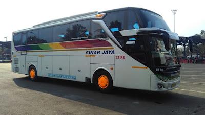 Foto Bus Sinar Jaya 22RE