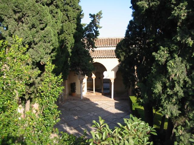 Alcazaba in Málaga, Spanien