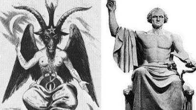 A estatua de Baphomet repleta de significados