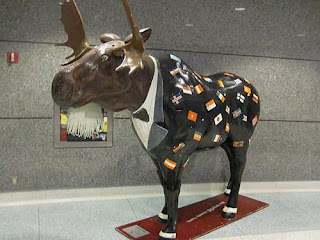 Moose In A Suit.