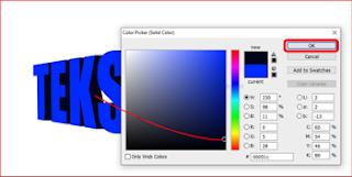 Cara Membuat Efek Teks 3D Di Photoshop