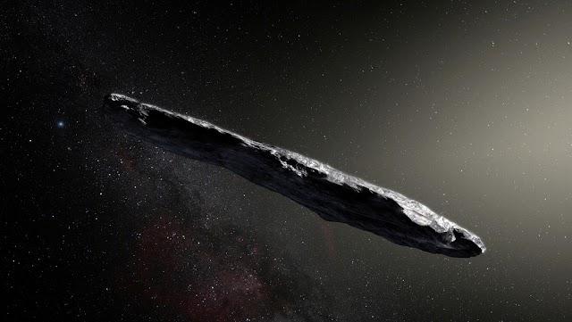 El primer signo de vida inteligente más allá de la Tierra. El objeto interestelar Oumuamua