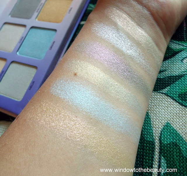 ABH Aurora Glow Kit swatches