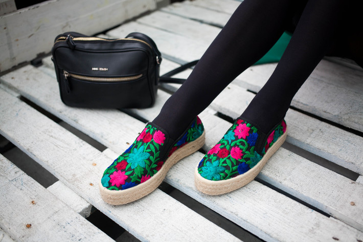 Torfs embroidered espadrilles