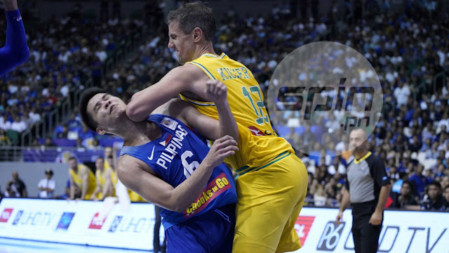 List of Events that maybe led to the Gilas and Boomers Basketbrawl