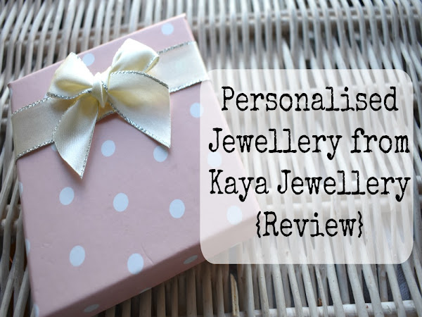 Personalised Jewellery from Kaya Jewellery {Review}