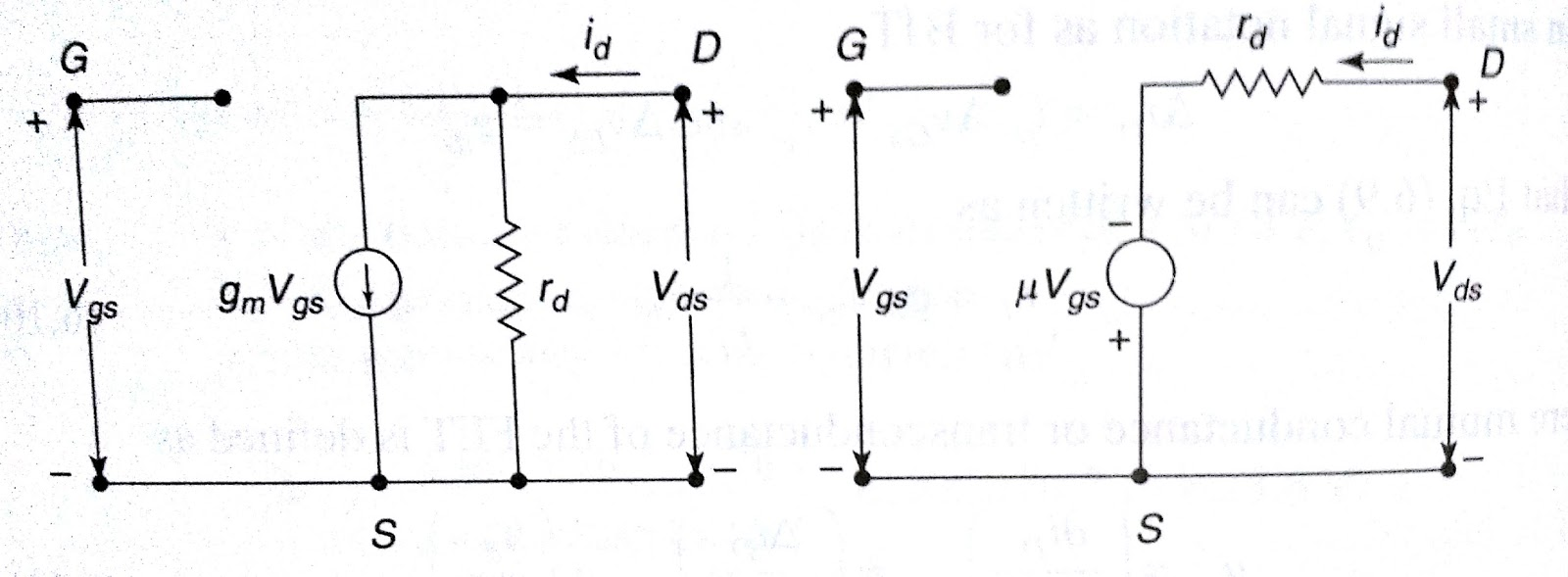 Electronic Devices And Circuits Lab Viva Questions Part4 Fet Ece Biasing What Are The Characteristic Parameters Of A Relations Between Them