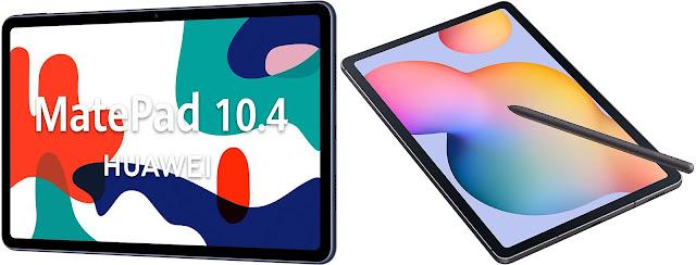 Huawei MatePad 10.4 vs Samsung Galaxy Tab S6 Lite