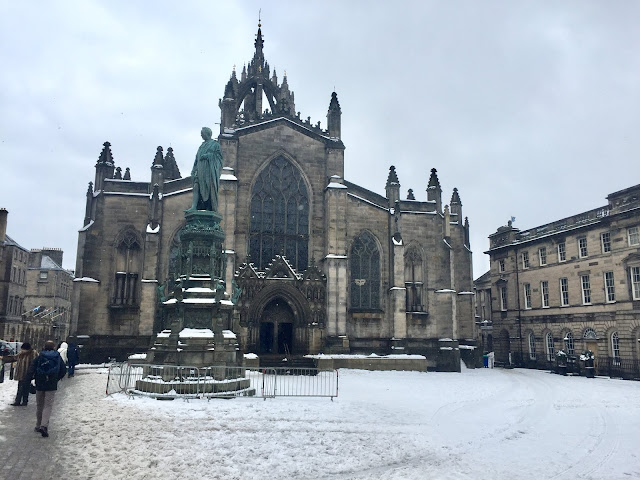 St Giles' Cathedral, Edinburgh, Scotland