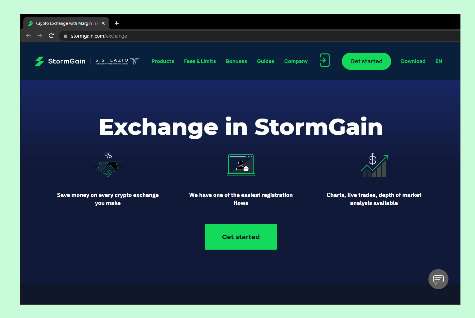 Exchange Cryptocurrency With StormGain