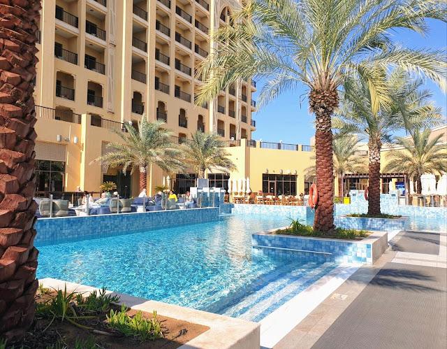 DoubleTree Resort&Spa Marjan Island hotellin allasalue