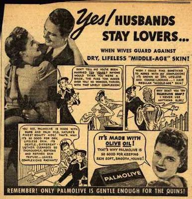 Palmolive - Husbands stay lovers
