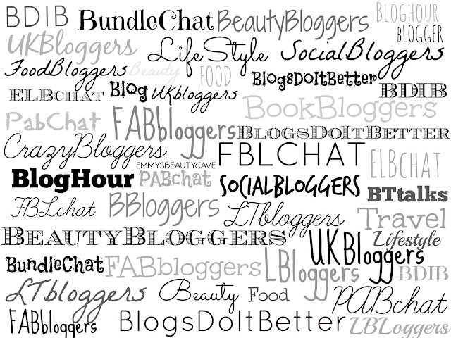 Blogger Twitter Chats