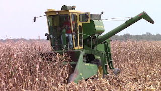 John Deere corn picker