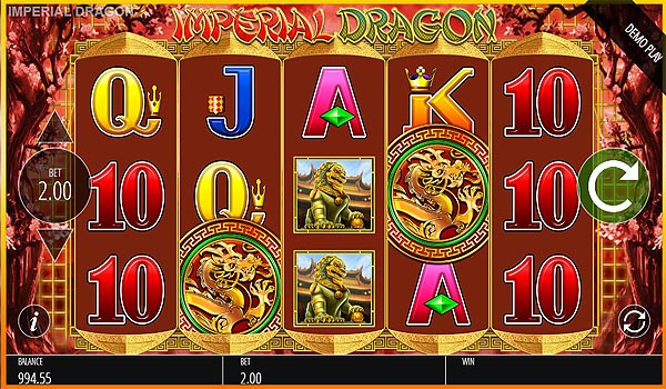 Main Slot Gratis Indonesia - Imperial Dragon (Blueprint Gaming)