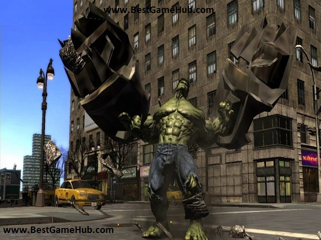 The Incredible Hulk Torrent PC Game Download Free