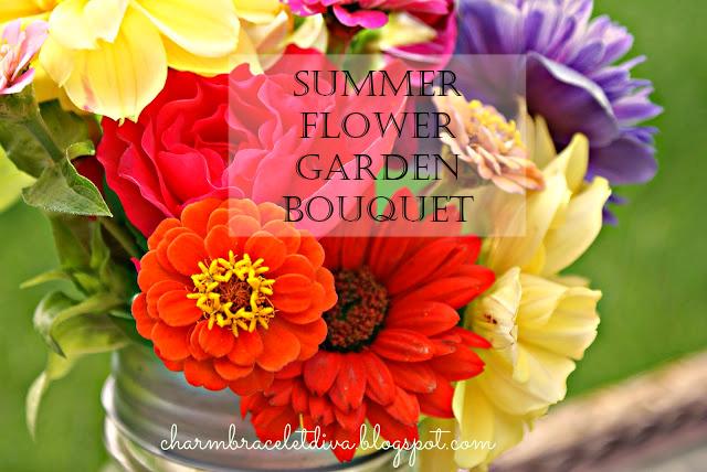 summer flower garden bouquet flowers