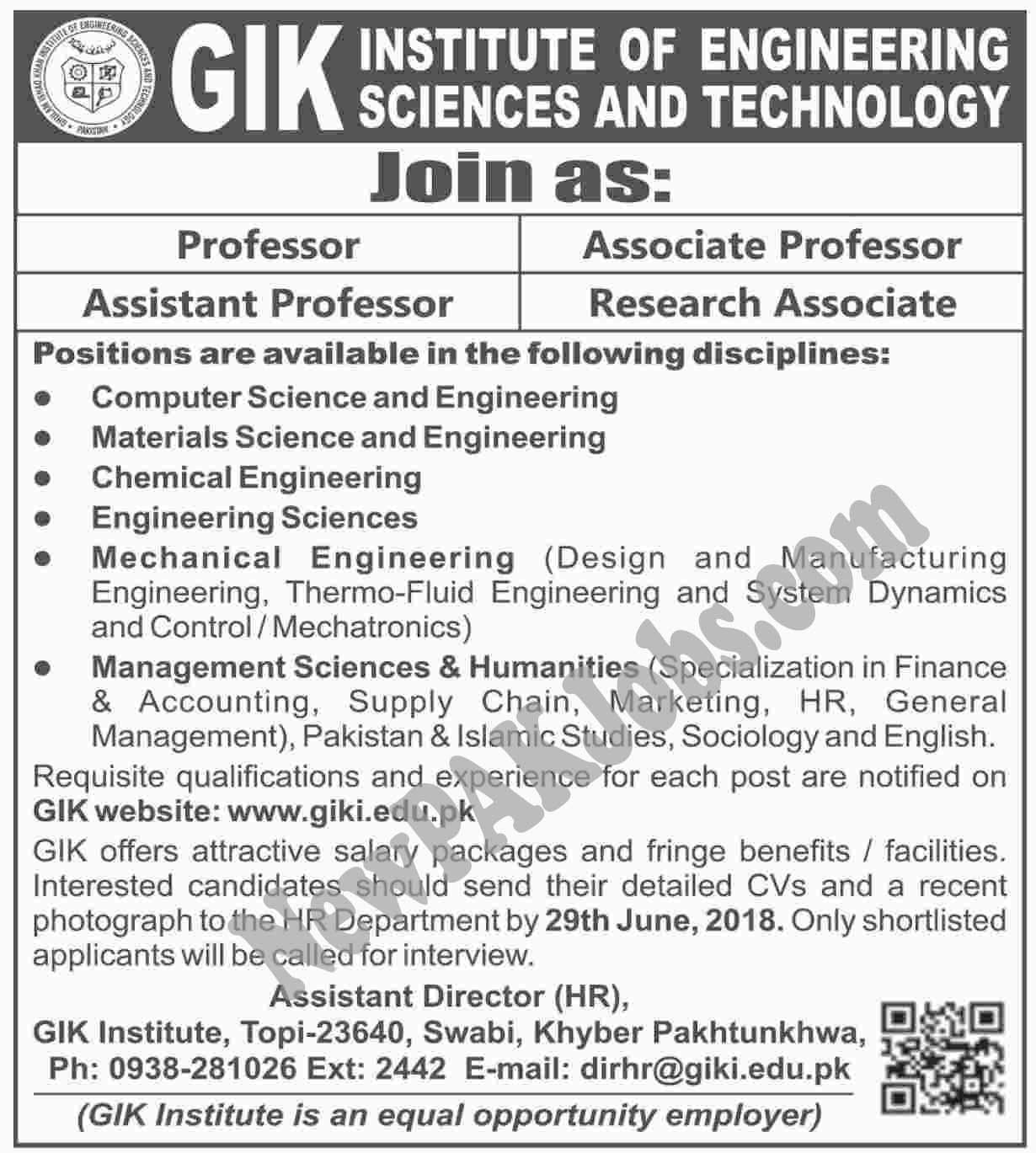 GIK Ghulam ishaq khan Institute of Engineering Sciences and Technology  | giki.edu.pk