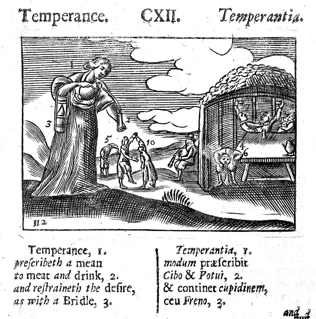 school book 1600s temperance