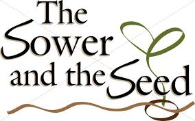 Parable of the sower of Seed