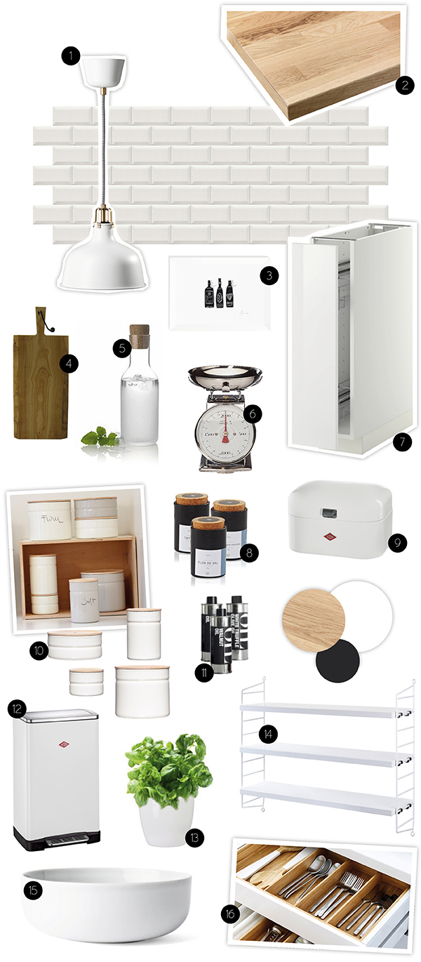 dreierlei liebelei moodboard neue k che. Black Bedroom Furniture Sets. Home Design Ideas