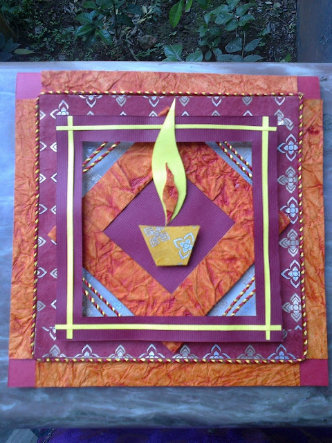 Card Making Ideas For Diwali Part - 48: Diwali Cards Ideas