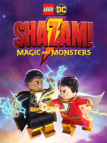 LEGO DC Shazam  Magic and Monsters 2020 English 720p WEB-DL 800MB poster