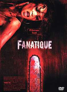 affiche française du film FANATIQUE (HACK aka CHAINSAW SLAUGHTER), slasher avec Kane Hodder, Filmer tue, french poster