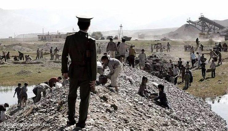 Trabajos forzados en Corea del Norte