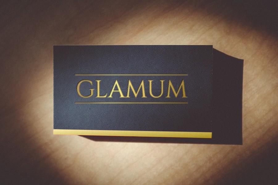 Glamum Mock Card