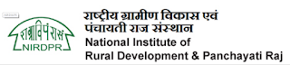 NIRDPR Hyderabad MTS, Project Assistant Notification 2019