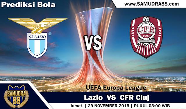 Prediksi Bola Terpercaya Liga Europa Lazio vs CFR Cluj 29 November 2019