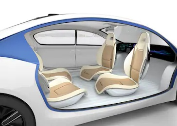 Self driving car, autonomous car Tesla car Google Wymo car, futuristic car, super car