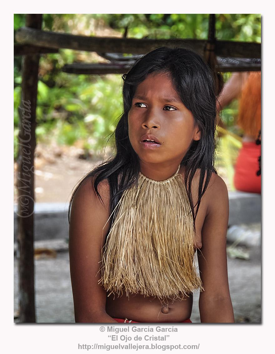 Joven Yagua. Retrato