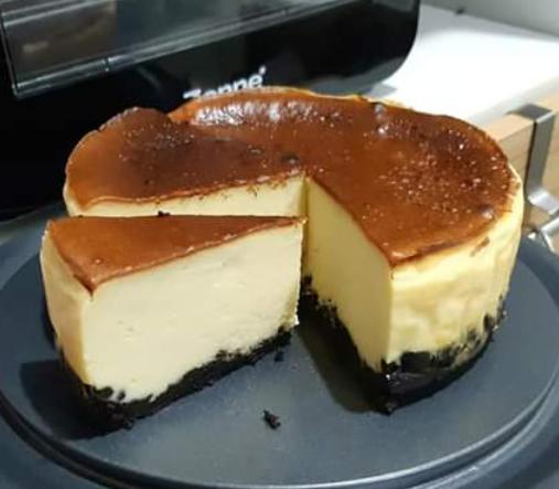 Resepi Oreo Burnt Cheese Cake