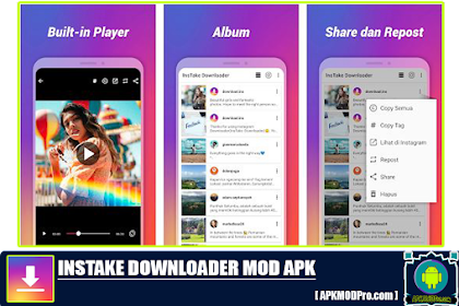 Foto & Video Downloader Instagram APK [MOD No Ads] Versi terbaru 2020
