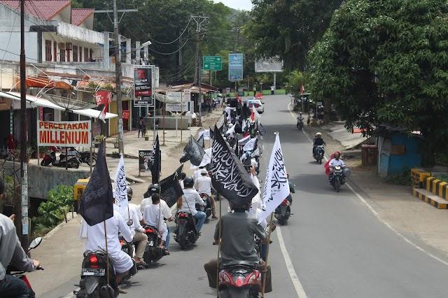 Parade Tauhid Penyambutan Tahun Baru Islam 1441 Hijriyah di Kota Padangsidimpuan