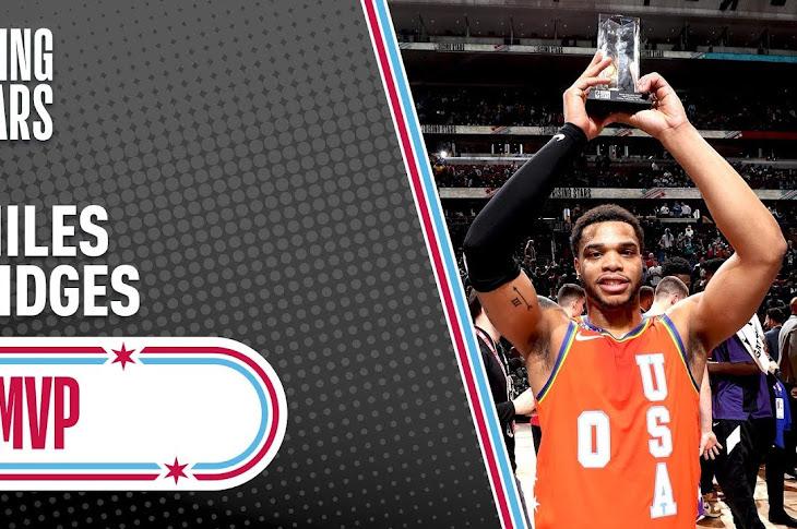 Miles Bridges Wins MVP Of Rising Stars Game