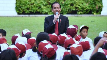 Pertanyaan Siswa SD ke Jokowi: Jadi Presiden Ngapain Saja Pak?