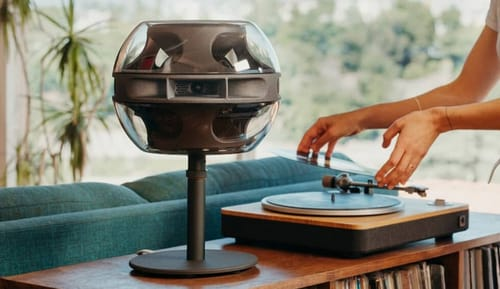 Cell Alpha 3-channel smart home speaker