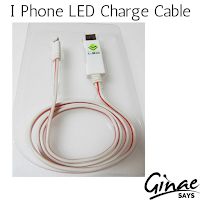 I Phone LED Charge Cable