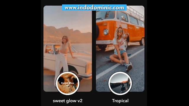 Nama Filter Snapchat Aestetik
