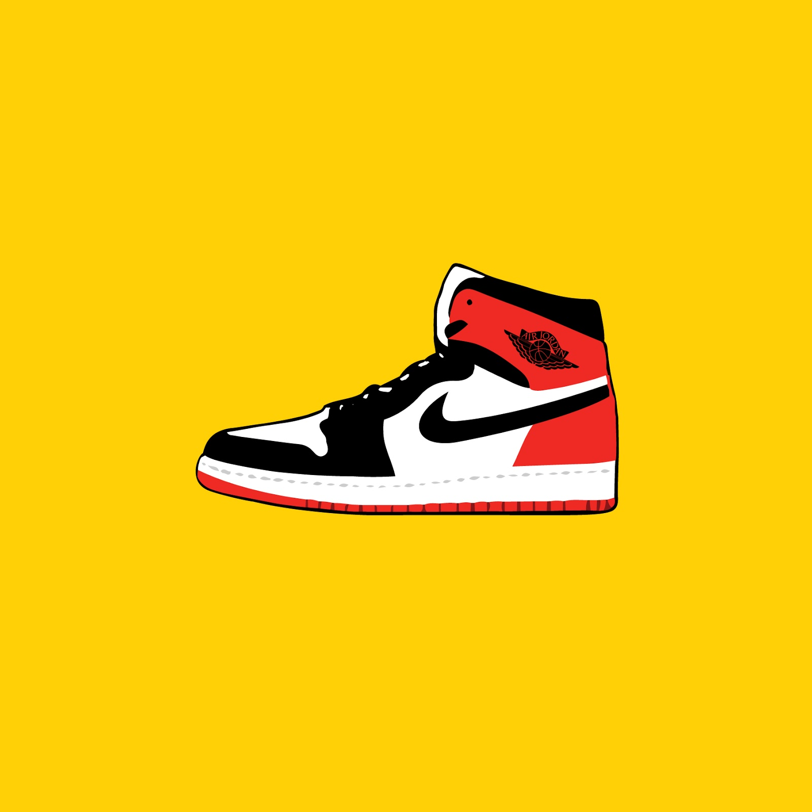 the latest 668e2 0a8ed Full vector art now available for download, click Vector Art Downloads Etsy  Shop.   Nike Air Jordan 1  Black Toe    Originally released in 1985, ...
